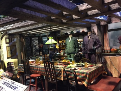 The Burrow's kitchen