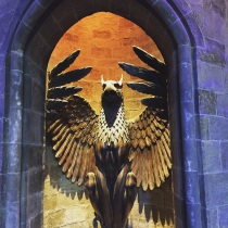 The entrance to Dumbledore's office