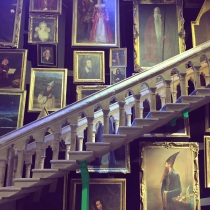 The moving staircase