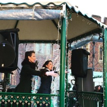 Entertainment at the BBC Good Food Festive Fayre