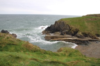 Driving along the Copper Coast