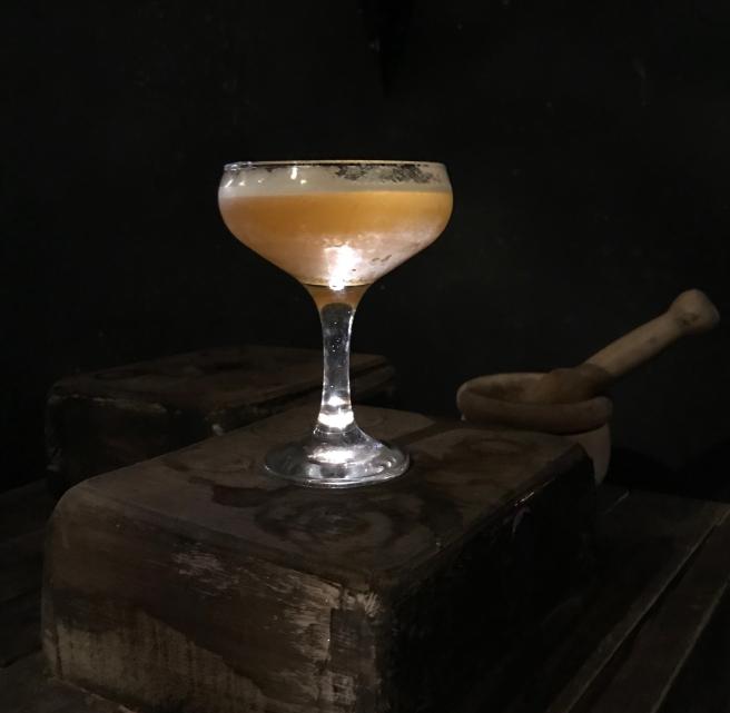 lavender gin potion