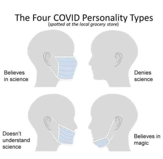 covid personality types